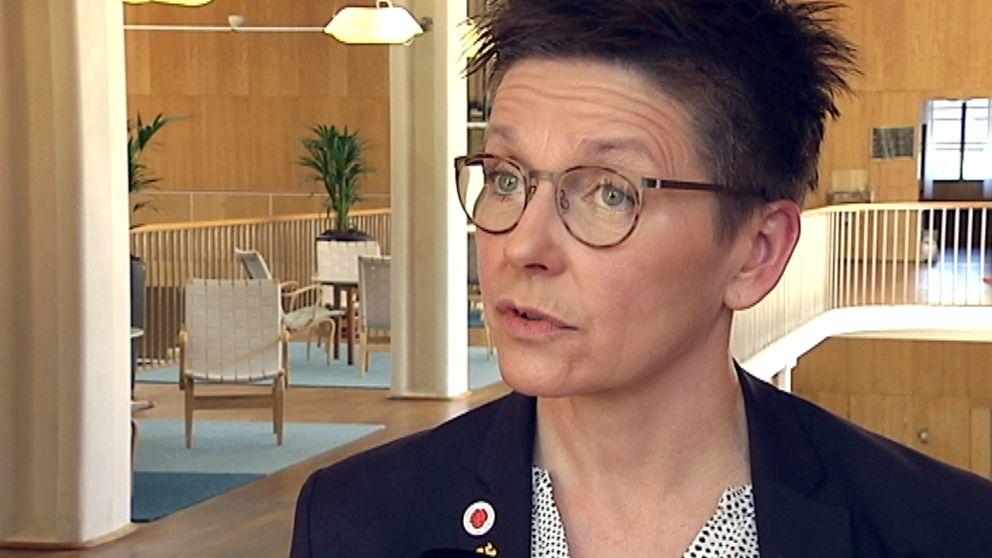 Ann-Sofie Hermansson (S), kommunstyrelsens ordförande i Göteborg.