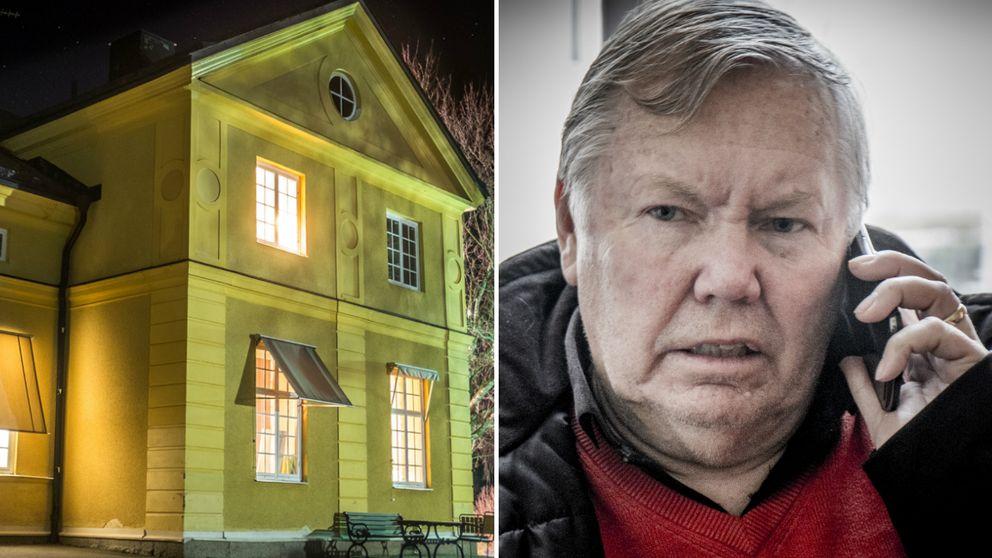 Livets ords fastighetsbolag stämmer Bert Karlssons företag Jokarjo på drygt en miljon kronor. Anledningen är en tvist om ett församlingshem som fungerat som asylboende.