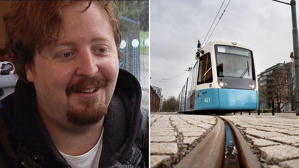 Martin Krantz har varit den så kallade hållplatsrösten i Göteborg under de senaste sju åren. Nu ska hans röst bytas ut.
