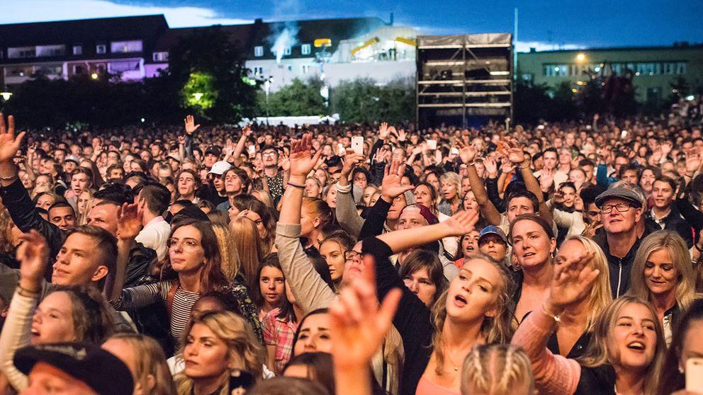 Hx-festivalen lockade storpublik förra året.
