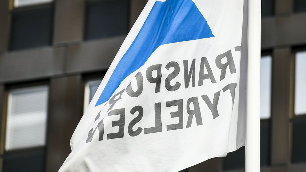 Transportstyrelsens flagga
