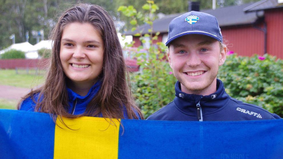 Felicia Vikström, James Lindström