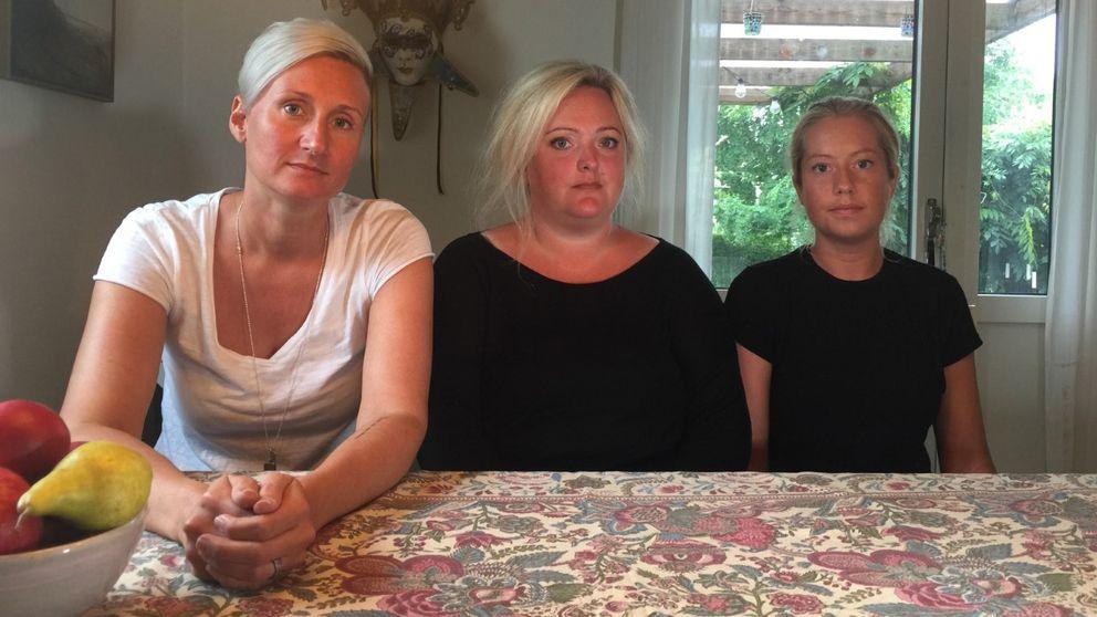 Sjuksköterskorna Evelina Persson, Elin Rosén och Clara Hansson vill se förändring på akuten i Halmstad.