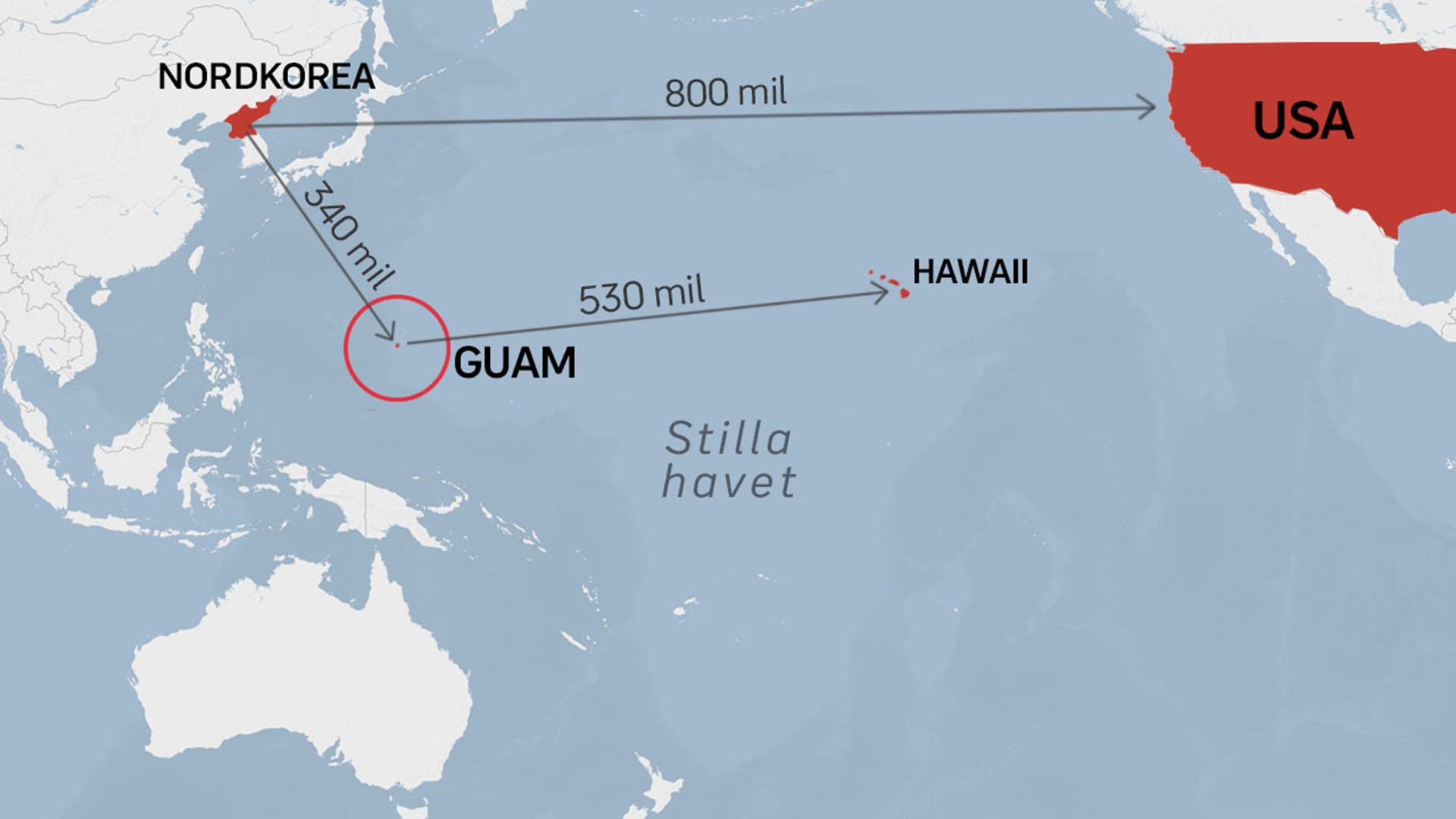 guam karta Allt du behöver veta om Guam – och varför   SVT Nyheter guam karta