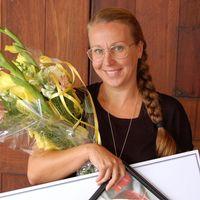 Anna-Eva tilldelades pedagogiskt pris