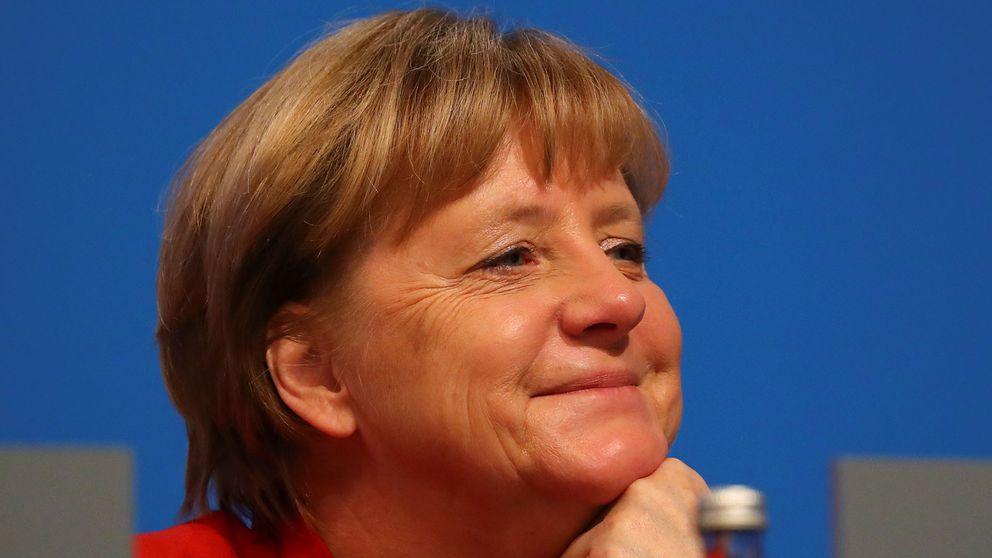 Angela Merkel har starkt väljarstöd inför starten av valkampanjen.
