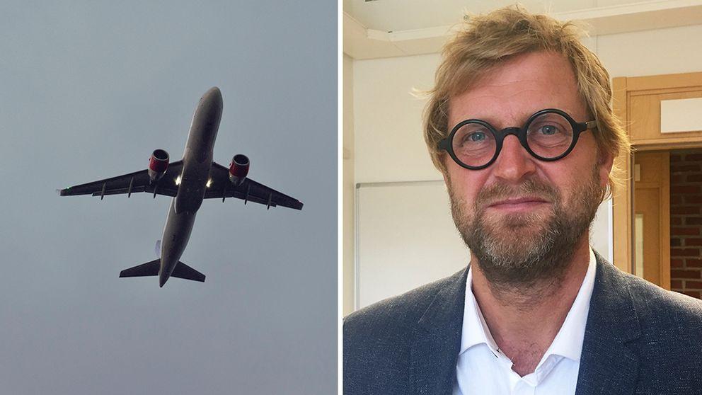 Svenskarna flyger allt mer utomlands – trots att de flesta vet att det är dåligt för miljön.