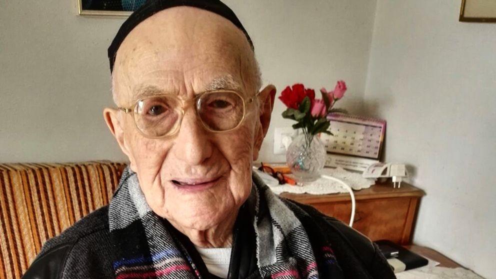 Yisrael Kristal, världens äldsta man.