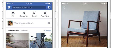 Facebook lanserar säljtjänst i Sverige.