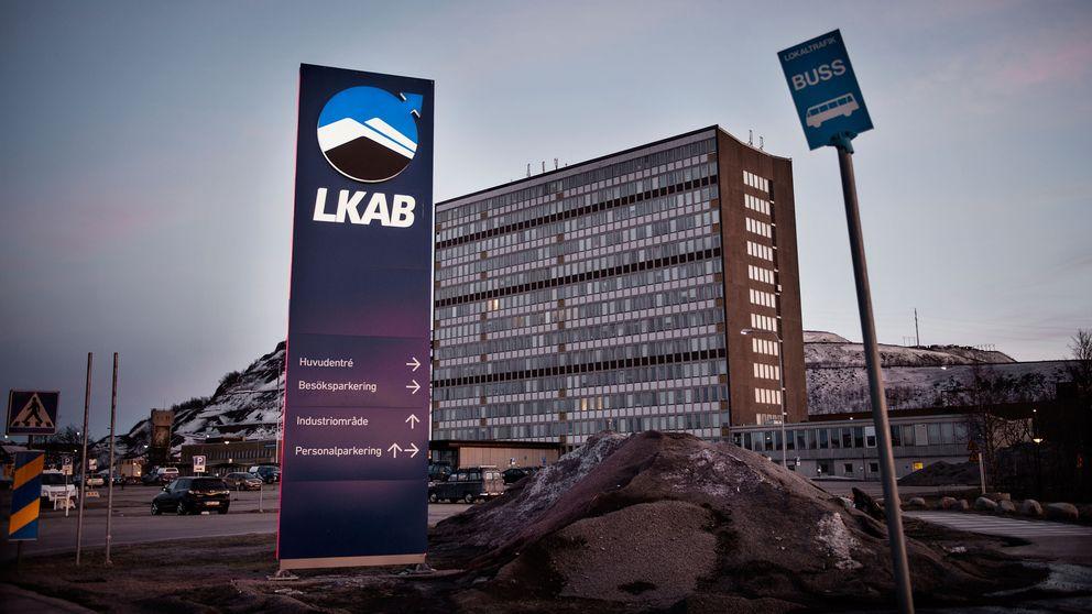LKABs hus i Kiruna.