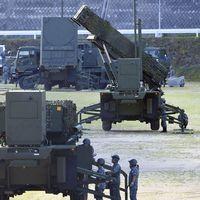Robotförsvarssystemet PAC-3 har satts upp på fyra platser i Japan. Bilden är från Konan i Kochiprefekturen.