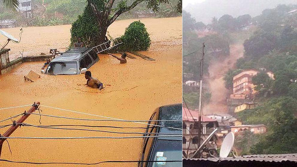 Sierra Leone: 400 döda framgrävda