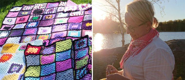 Annie Pettersson från Lysekil är en av de omkring 900 personer i Sverige som på något sätt varit med och bidragit till att 31.000 mormorsrutor har virkats. Rutorna ska bli 500 filtar som ska skänkas till hemlösa i Göteborg. Allt tog sin början för att försöka slå det svenska rekordet på drygt 18.000 mormorsrutor.