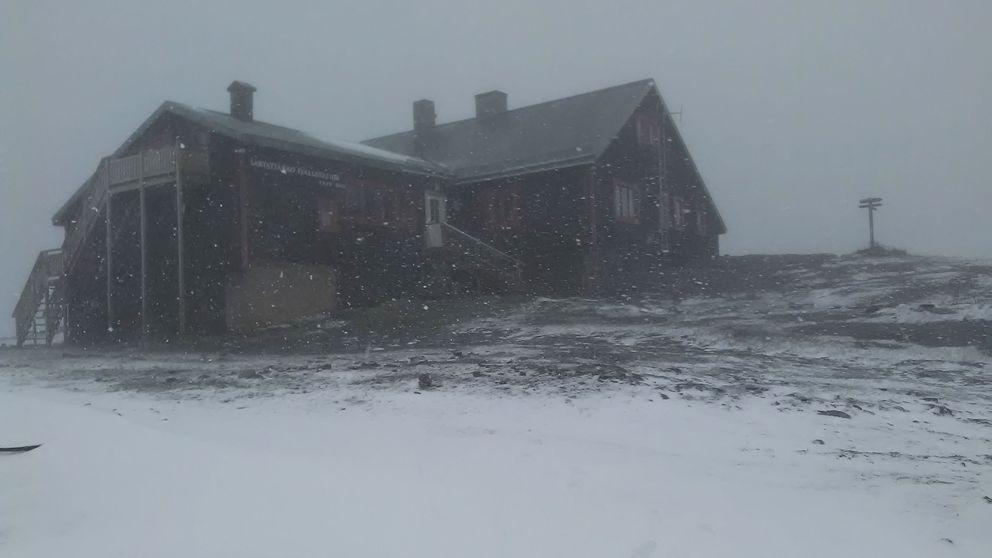 Nu har den första snön kommit
