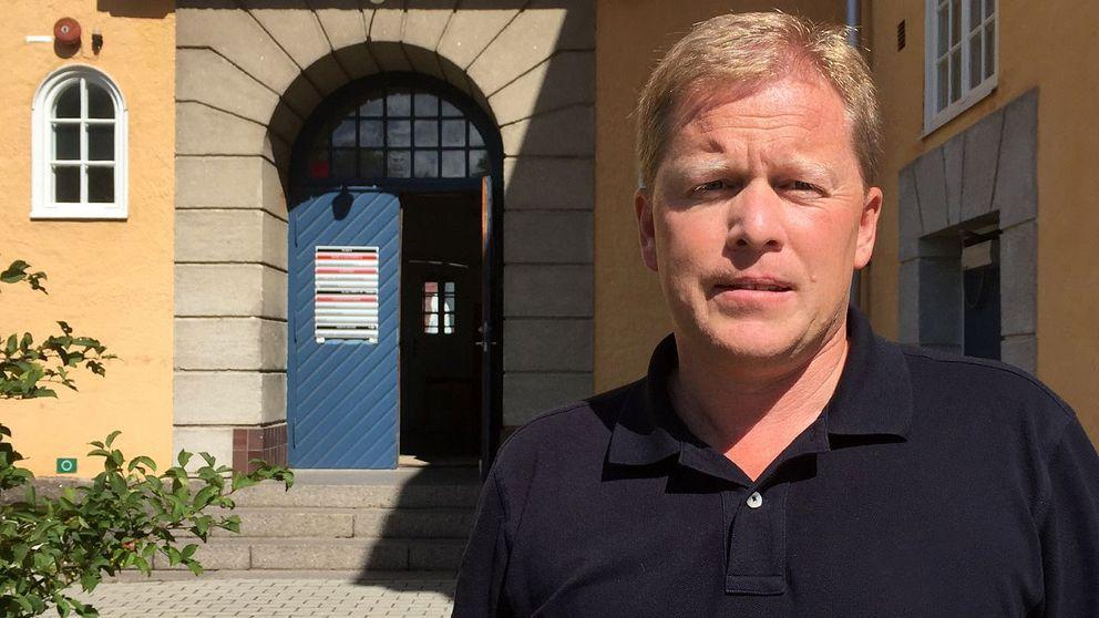Magnus Sjöstedt, skolchef på Mönsterås kommun, hoppas att det långsiktiga projektet ska gynna Mönsterås elever.