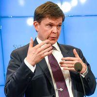 KU:s ordförande Andreas Norlén (M) och utskottets vice ordförande Björn von Sydow (S).