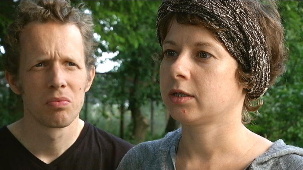 Erik Willekens och Tanya Gutova