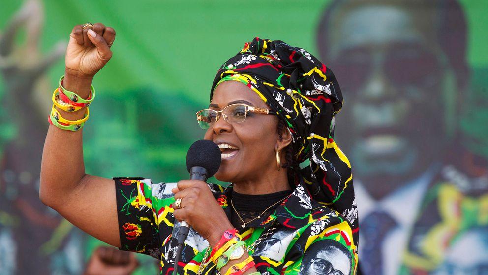Grace Mugabe, som betraktas som en möjlig efterträdade till sin make, är känd för sitt häftiga humör.