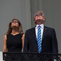 USA:s president Donald Trump och landets första dam Melania Trump.