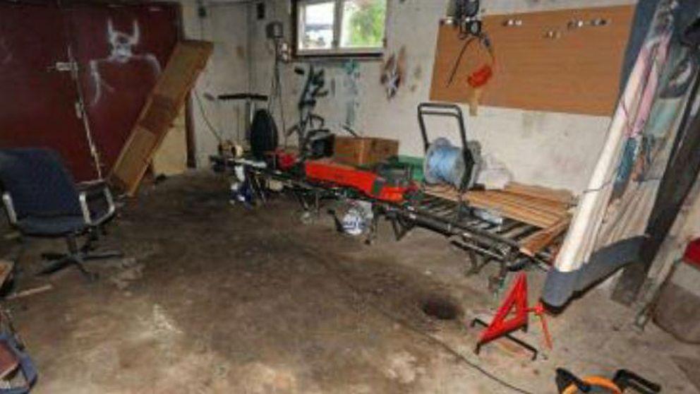 Stökigt garage