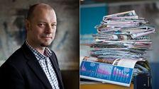 Jesper Strömbäck har studerat mediernas rapportering om invandring under en femårsperiod.
