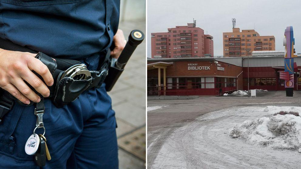 Polis Bäcbky torg