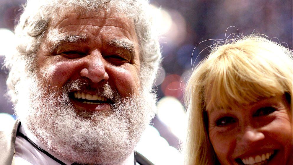 FIFA – en kärlekshistoria: Chuck Blazer och ary Lynn Blanks.
