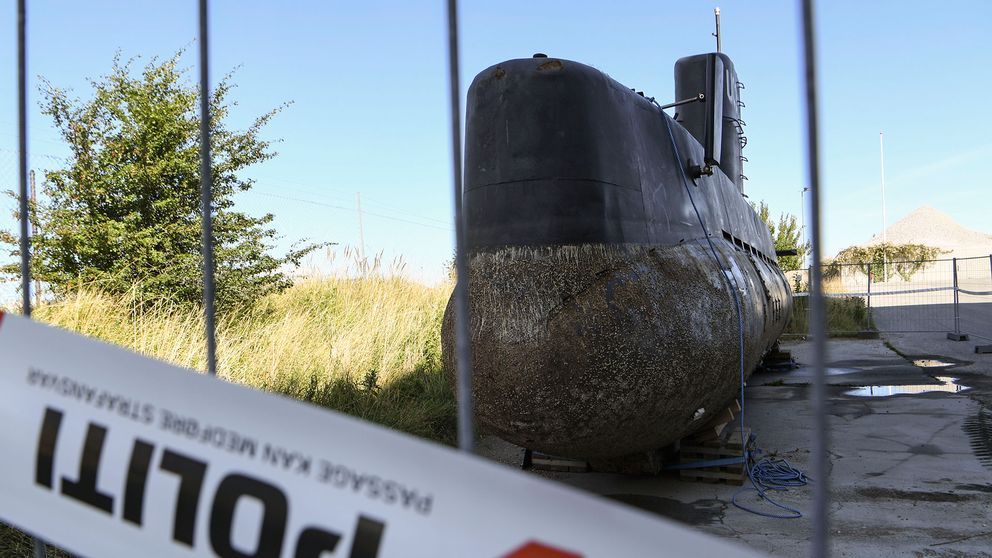 Peter Madsens ubåt UC3 Nautilus.