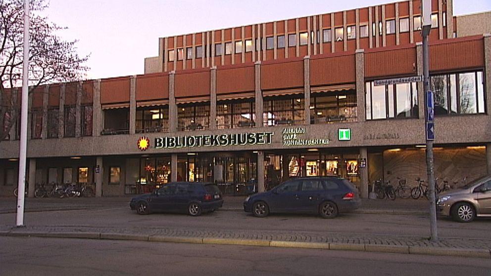 Stadsbibilioteket i Karlstad.
