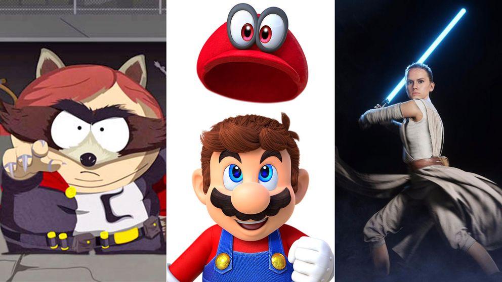 South Park, Super Mario Odyssey och Reys entré i svenska Star Wars-spelet är några av höstens höjdpunkter.