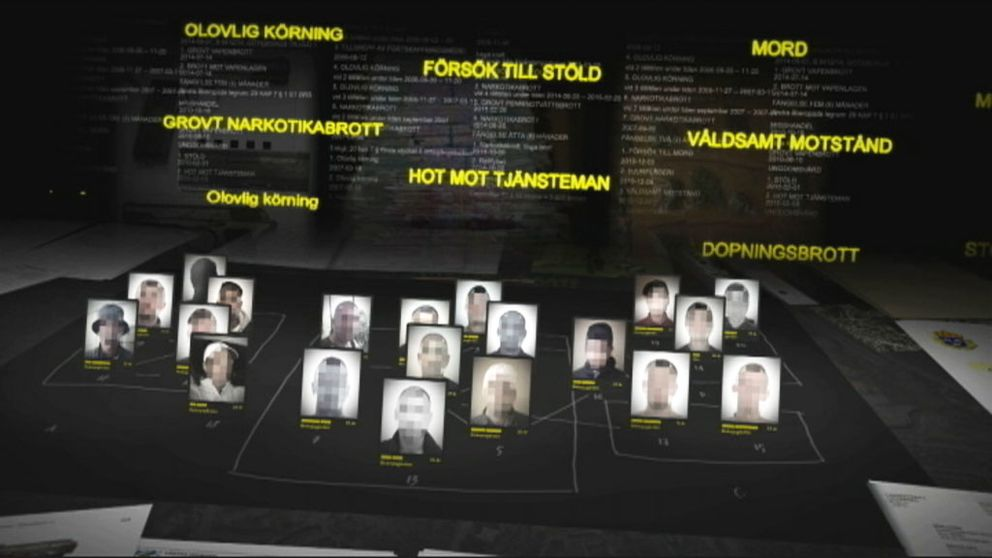 UG har kartlagt 20 unga kriminella män i Biskopsgården.