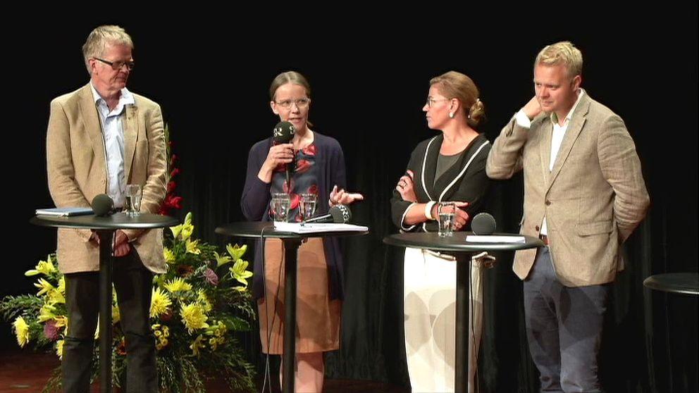 Medverkande: Gunnar Wetterberg, historiker Eva Sjögren, Sieps, Hanna Ojanen, Jean Monnet Professor, Tampere Universitet och Björn Fägersten, Seniorforskare och chef för UI:s Europaprogram.
