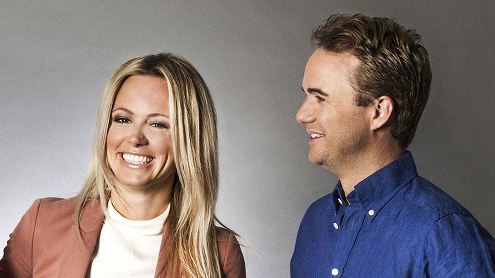 Carolina Neurath och Pelle Nilsson leder nya Morgonstudion.