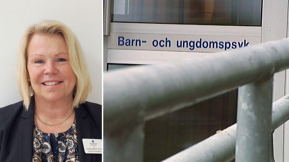– Syftet med att göra en samlad mottagning är att få en mindre sårbar organisation, säger Gunilla Svedström, verksamhetschef för psykiatrin vid Akademiska sjukhuset.