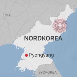 Här genomförde Nordkorea provsprängningen