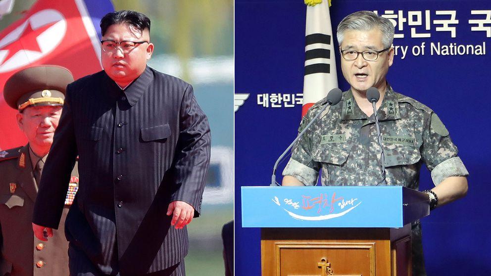 Sydkoreas militärchef Cho Han Gyu lovar militära åtgärder mot Nordkorea
