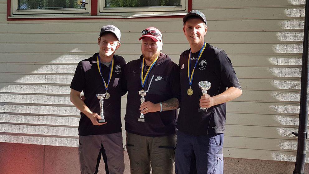 Mikael Svensson, Martin Johansson och Christoffer Hellöre
