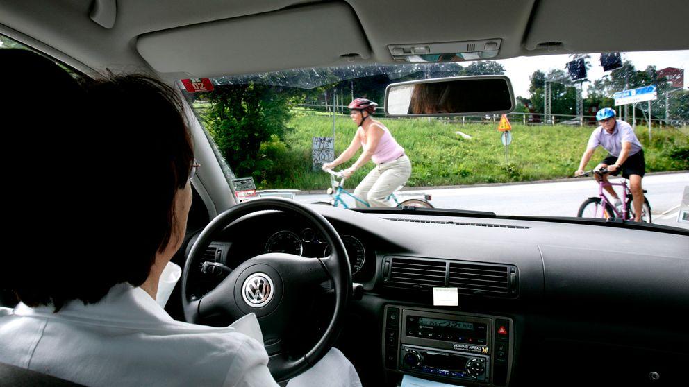 bilist och cyklister