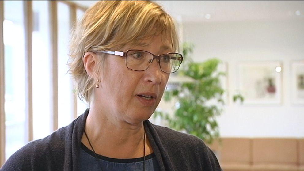 Karin Bergdahl, projektledare för skredriskutredning länsgt med Säveån.