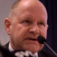 Rikspolischef Dan Eliasson.
