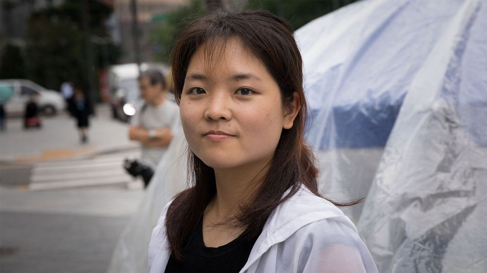 Porträttbild på en kvinnlig student