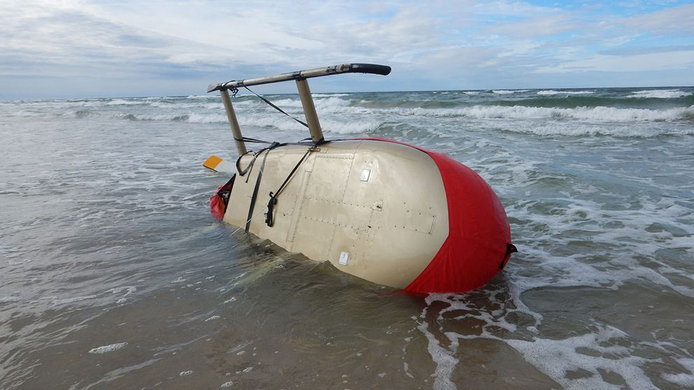 helikopter strandad gotska sandön