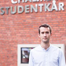 Carl Toller, ordförande Chalmers studentkår.