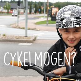 Se trafiken ur 10-årige Karls perspektiv när han cyklar till skolan