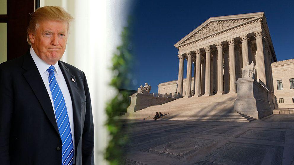Trumps inreseforbud mals vidare i domstol