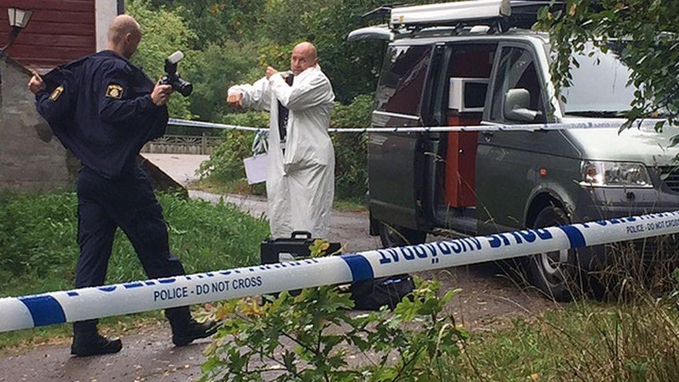 Mord i Rydöbruk.