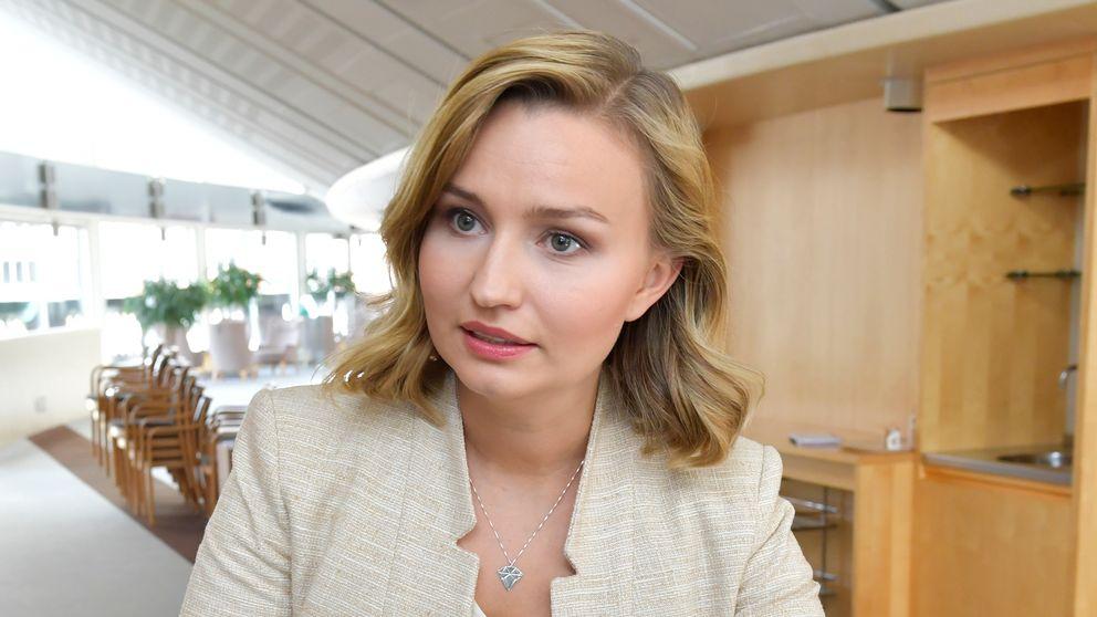 KD-ledaren Ebba Busch Thor