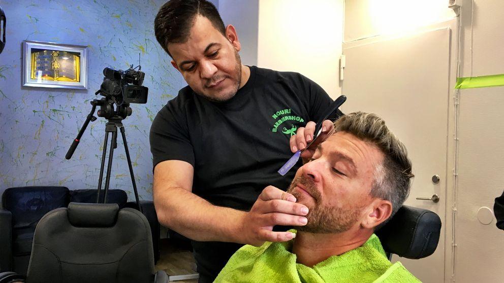 Nouri Halak, är frisör och barberare i Ronneby.
