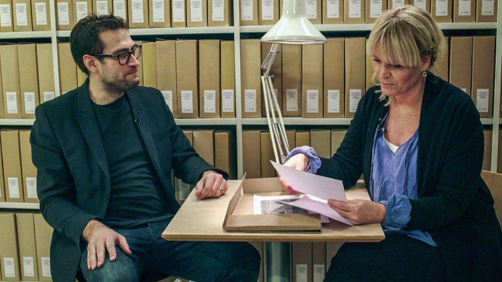 Niklas Källner och Kattis Ahlström.