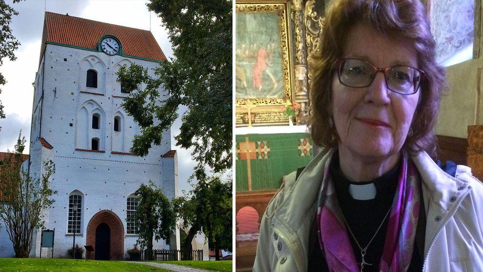 Gunnel Alvhäll är kyrkoherde i Ronneby.